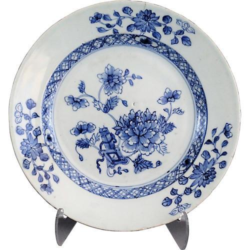 Dutch Delft Chinoiserie Plate