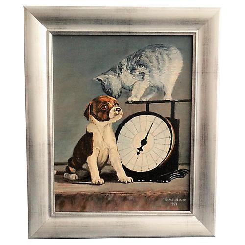 Kitten & Puppy Dog