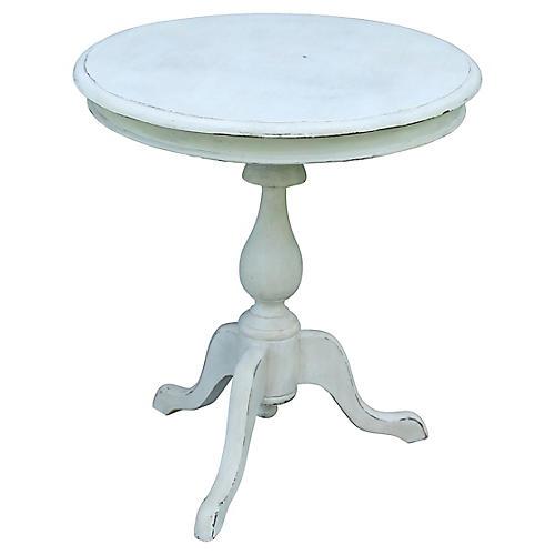 Gustavian-Style Pedestal Table