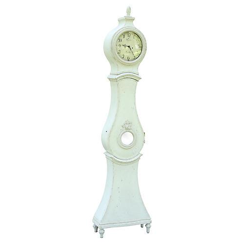Antique Swedish Gustavian Mora Clock