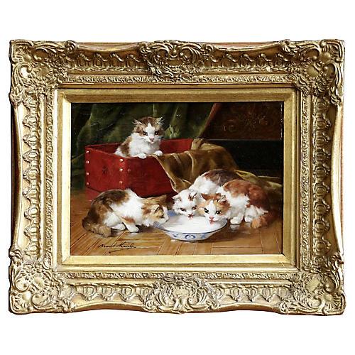 Kittens by Brunel de Neuville