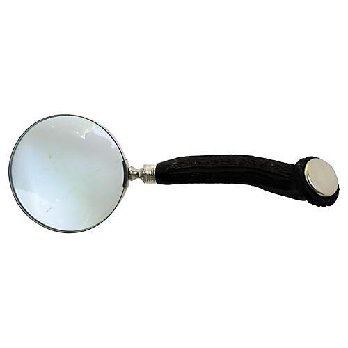 1909 Sterling & Antler Magnifying Glass