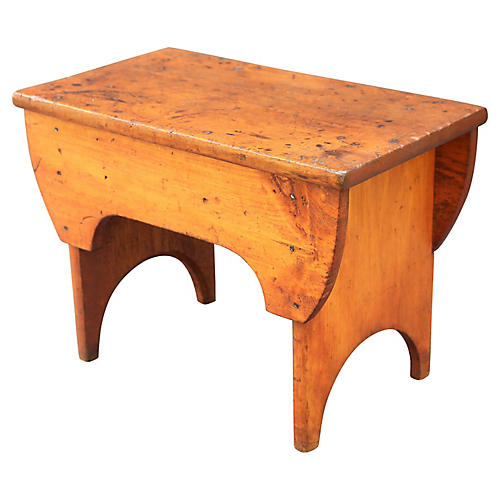 Antique American Pine Bench