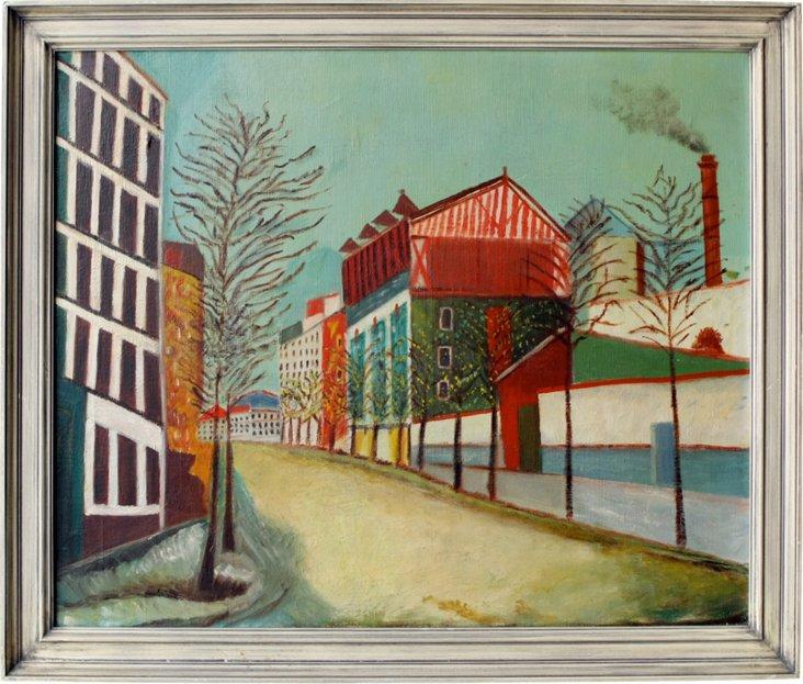 Modernist Street Scene