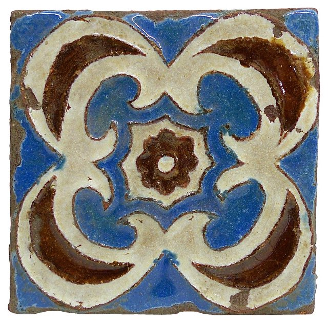 Spanish Pottery Tile