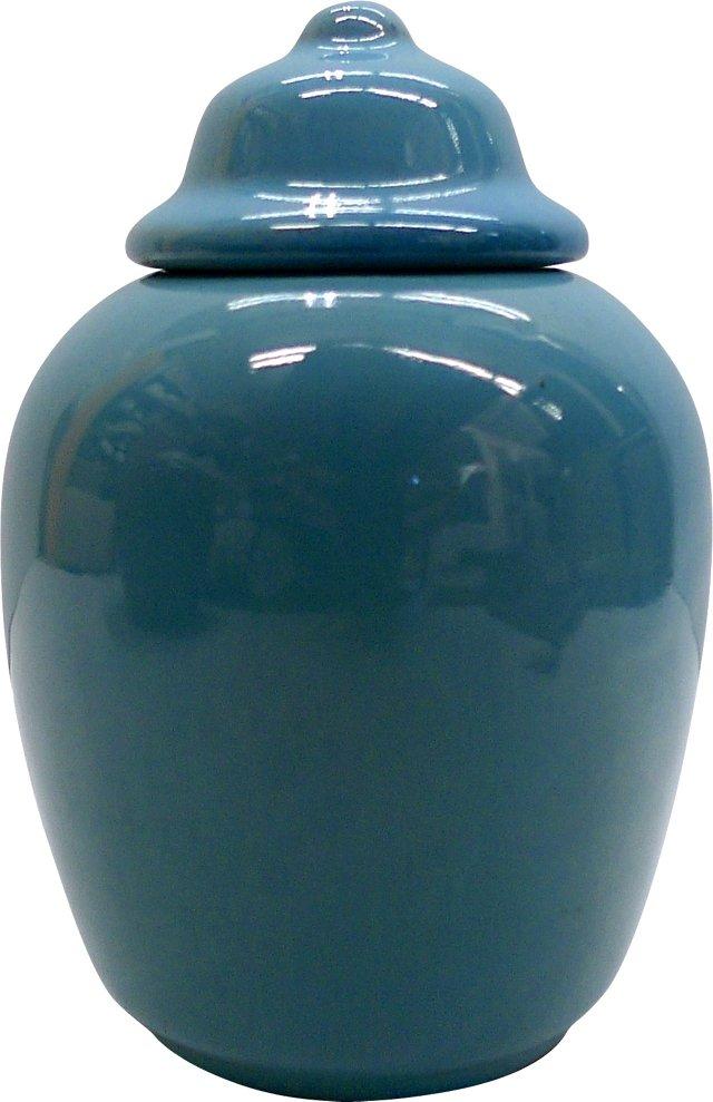 California Temple Jar