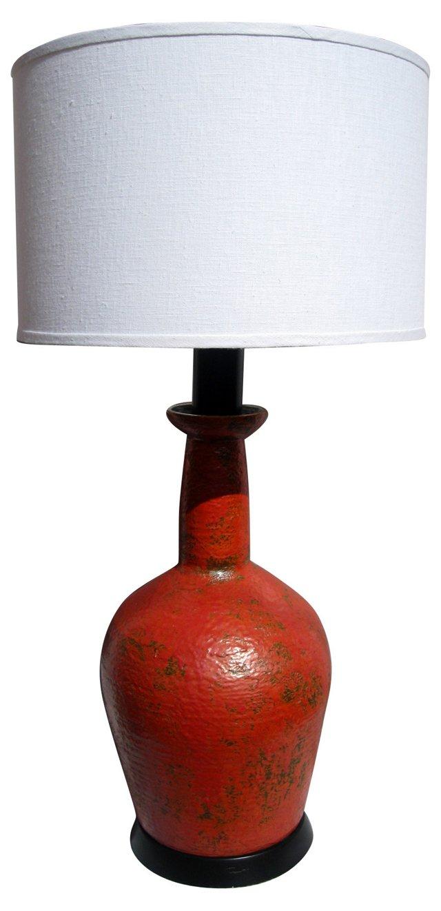 Midcentury Ceramic Lamp