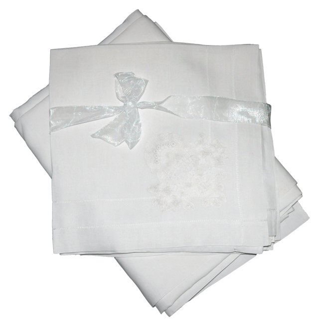 Banquet Tablecloth w/ 12 Napkins