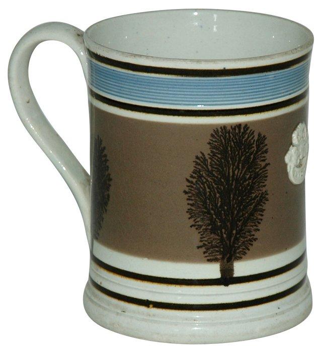 Antique Crest Mochaware Mug