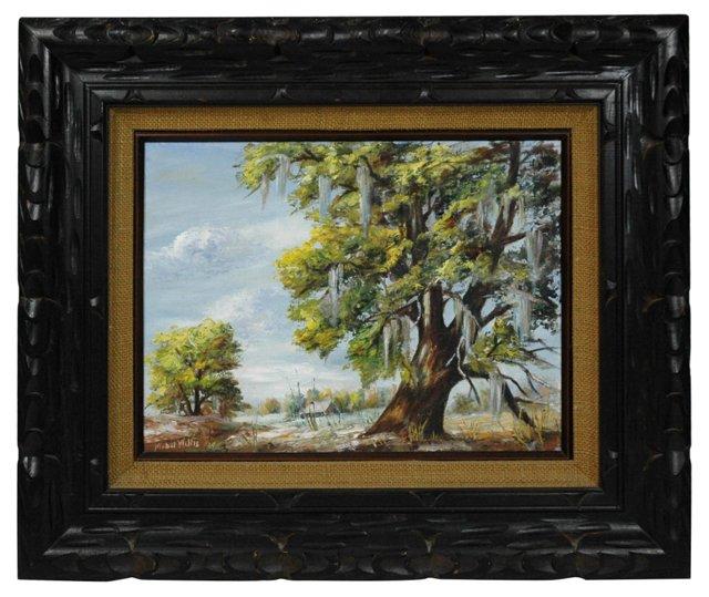 Old Oak by Mabel Willis