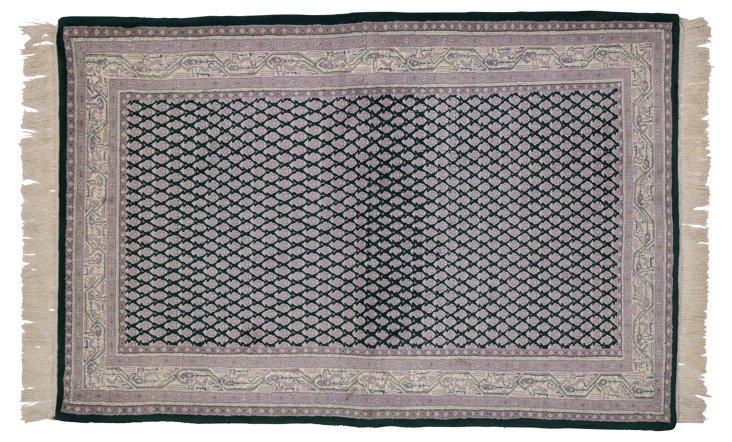 Indian Rug, 4' x 6'