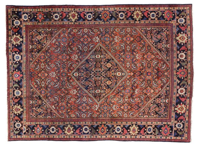 "Mahal Persian Area Rug, 11'8"" x 8'11"""