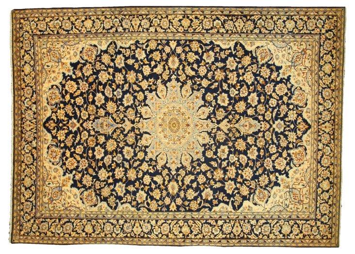 "Persian Najafabad Rug, 9'6"" x 13'"