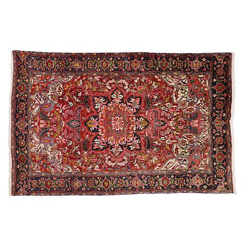 Persian Heriz Rug, 6'5 x 9'9