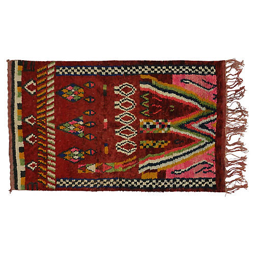 "Moroccan Rug, 5' x 8'1"""