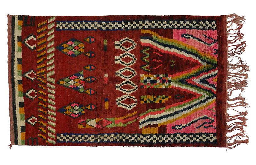 Moroccan Rug, 5' x 8'1