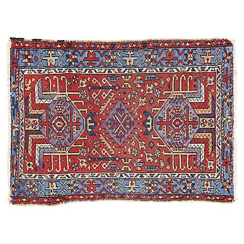 Antique Heriz Persian Rug - 2'10 x 3'10