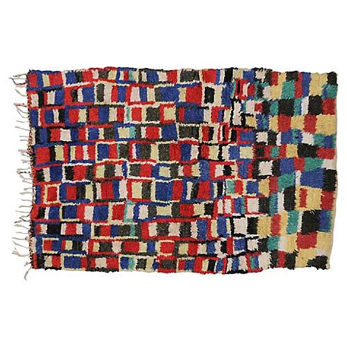 """Berber Rug, 4'9"""" x 7'"""
