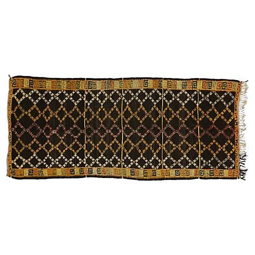 """Berber Moroccan Rug, 4'5"""" x 10'"""