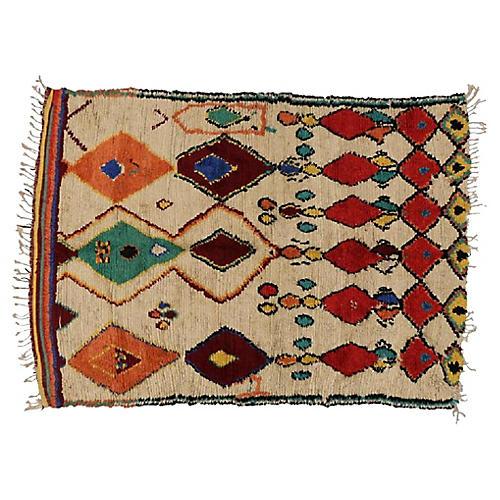 """Berber Rug, 5' x 6'9"""""""