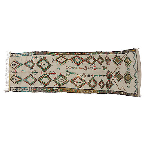 "Moroccan Azilal Runner, 3'11"" x 12'5"""