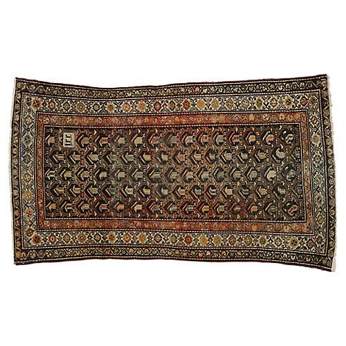 Antique Persian Malayer Rug, 3'10 x 6'10