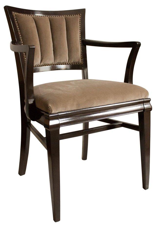 1920s  French Bridge Chair