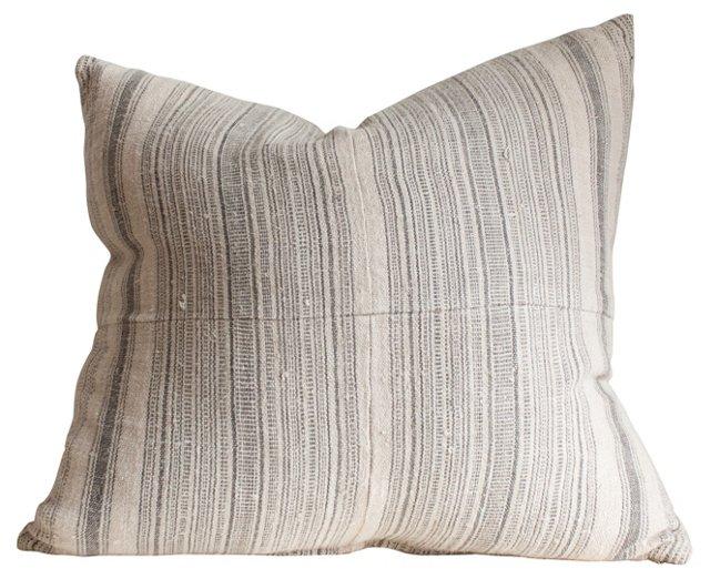 Pillow w/ Antique Homespun Linen