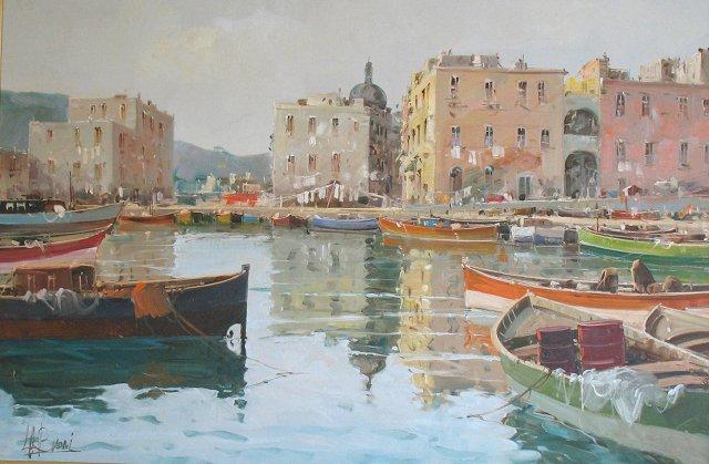 Italian City by the Sea