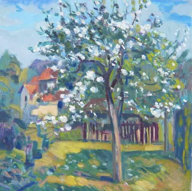 Flowering Garden by H. Curcuru