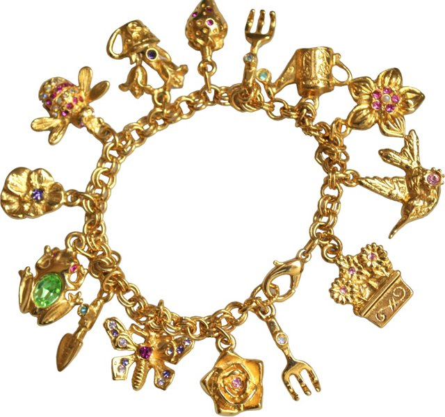 Graziano Springtime Charm Bracelet