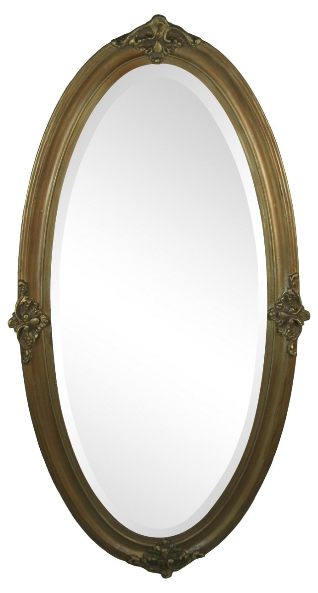 Beveled & Gilded Wall Mirror