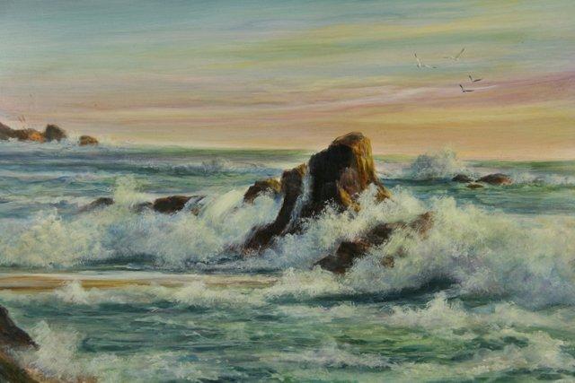 California Crashing Waves