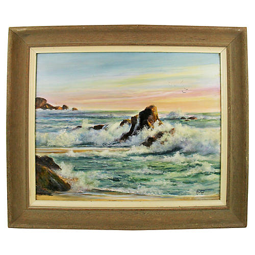 Seascape by Backer