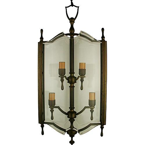 1920s Italian Bronze Lantern