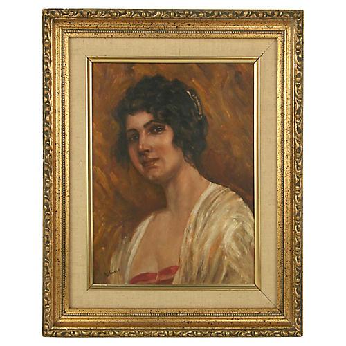Italian Patrician Portrait