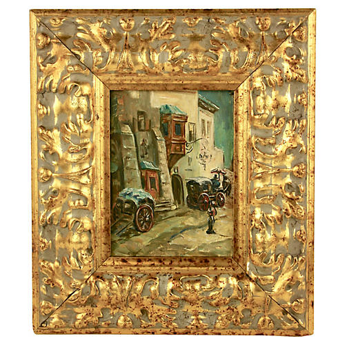 French VillagePainting