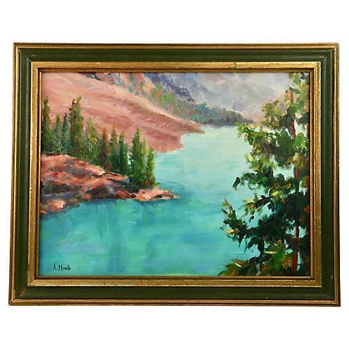 River Vista Landscape