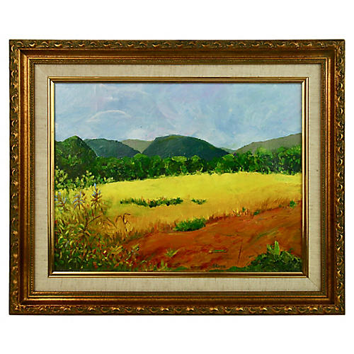 Provence Summer Field