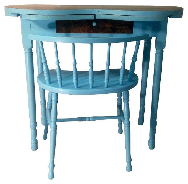 Kidney   Vanity & Chair