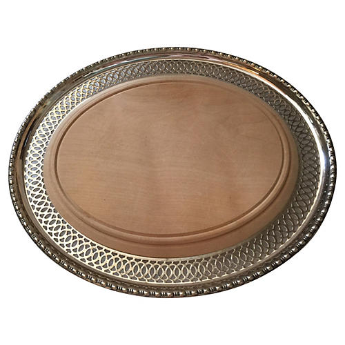Silverplate Cheese Board