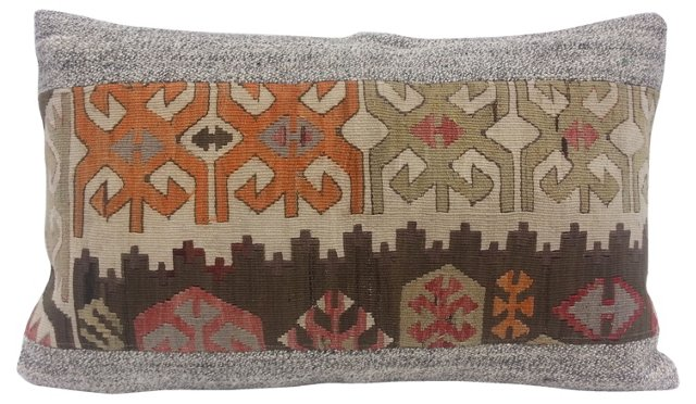 Geometric Kilim Pillow