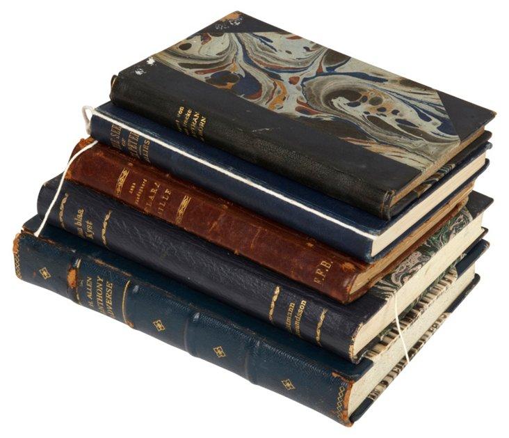 Danish Books, Set of 5