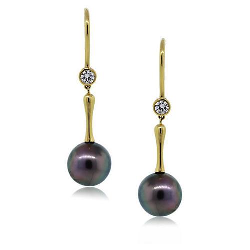 Tiffany & Co. Tahitian Pearl Earrings