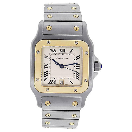 Cartier Santos Galbee Mens Watch