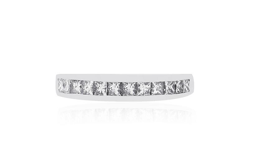14k Gold 0.65ctw Diamond Wedding Band