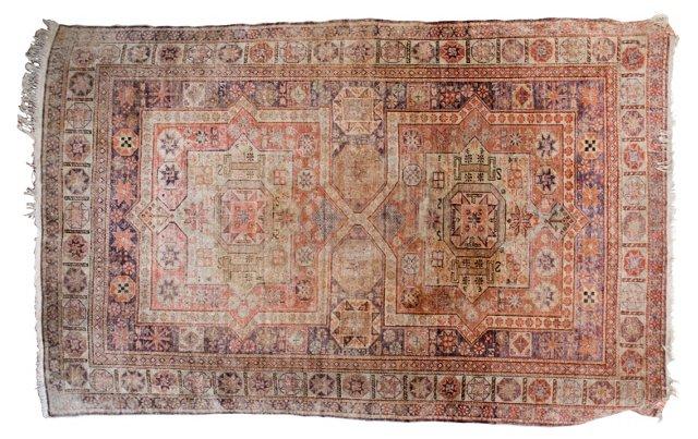 Antique Turkish Rug, 5' x 8'