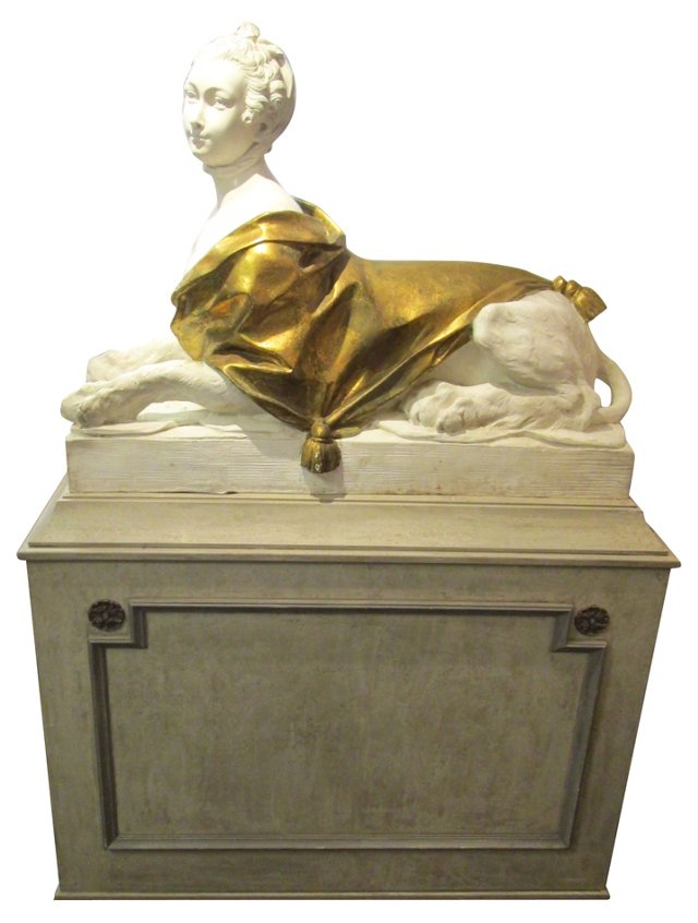Hand-Cast French   Sphinx
