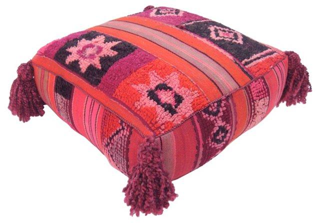 Moroccan Kilim Pouf