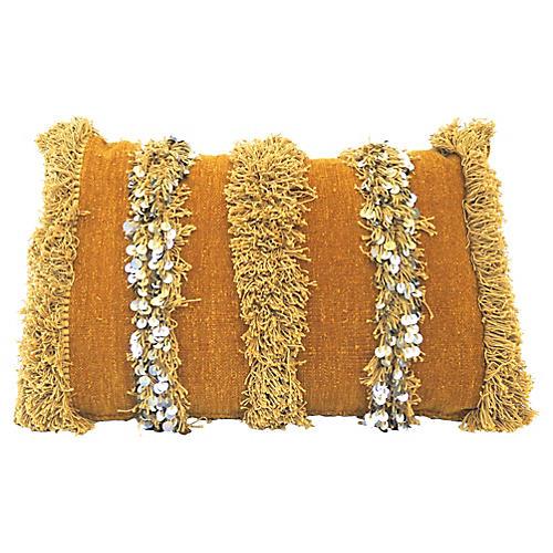 Moroccan Handira Sequin Pillow